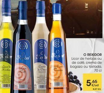 Oferta de Licor de hierbas ou de cafe, crema de bagazo ou tostada, 70cl por 5,65€