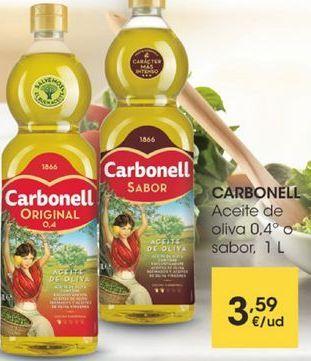 Oferta de Aceite de oliva 0,4º O SABOR, 1 L por 3,59€
