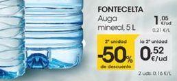 Oferta de Auga mineral, 5L por 1,05€