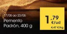 Oferta de Pemento Padron por 1,79€