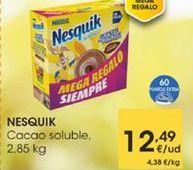 Oferta de Cacao soluble, 2,85kg por 12,49€