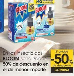 Oferta de En los insecticidas BLOOM señalizados por