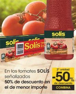 Oferta de En los tomates SOLIS señalizados por