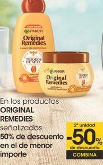 Oferta de En los productos ORIGINAL REMEDIES señalizados por