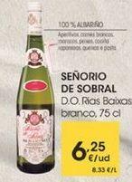 Oferta de D.O.Rias Bixas, branco, 75 cl por 6,25€