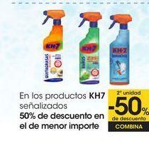 Oferta de En los productos KH7 señalizados por