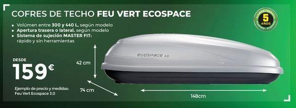 Oferta de Cofre de techo FEU VERT ECOSPACE  por 159€