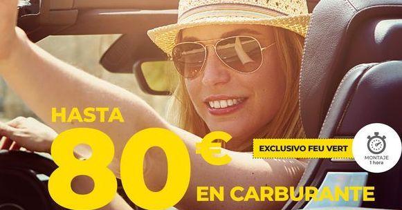 Oferta de Hasta 80€ en carburante  por