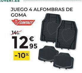 Oferta de Juego 4 alfombras de Goma contact por 12,95€