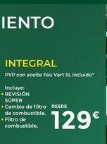 Oferta de Revisión de coche INTEGRAL  por 129€