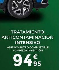 Oferta de Tratamientos anticontaminación intensivo   por 94,95€