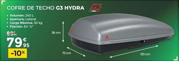 Oferta de Cofre de techo G3 HIDRA  por 79,95€