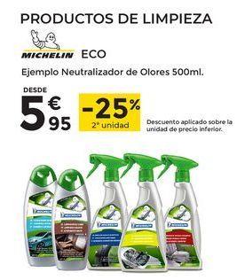 Oferta de Productos de limpieza Michelin por 5,95€