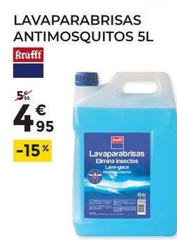 Oferta de Lavaparabrisas Kraft por 4,95€