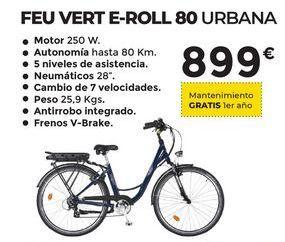 Oferta de Bicicletas urbana E-ROLL80 Feuvert por 899€