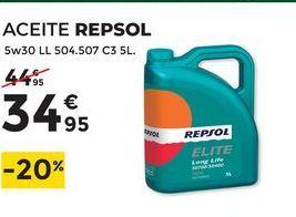 Oferta de Aceite Repsol por 34,95€