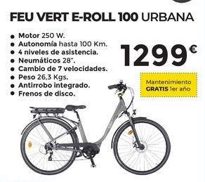 Oferta de Bicicletas urbana Feuvert E-ROLL100 por 1299€