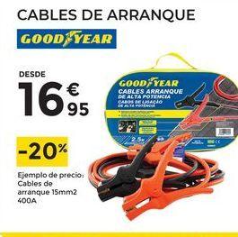 Oferta de Cables de arranque Good Year por 16,95€
