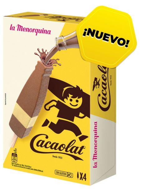 Oferta de La Menorquina  - La Menorquina Cacaolat. AHORRO:  por 0,75€