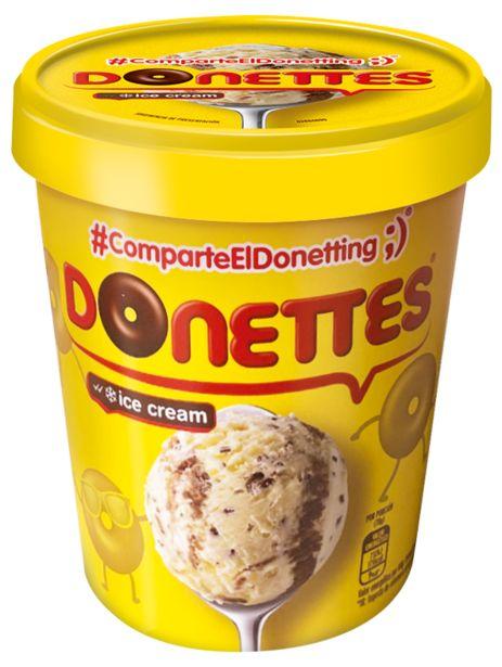 Oferta de Donettes - Helado de irresistibles Donettes. AHORRO:  por 1€