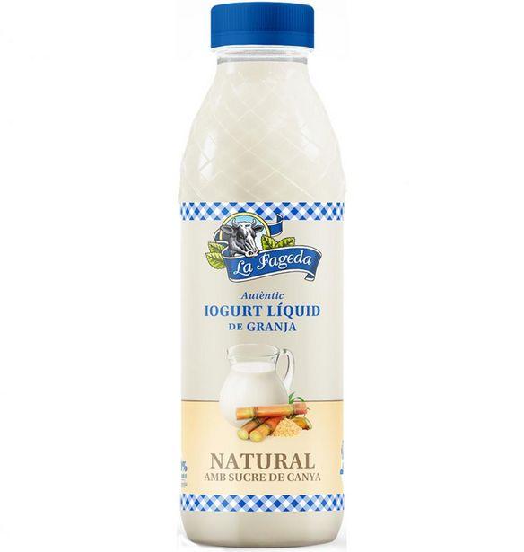 Oferta de La Fageda - Yogur líquido - Azucarado . AHORRO:  por 1€
