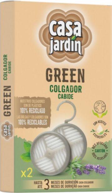 Oferta de Casa Jardin Green - Casa Jardín Green Colgadores. AHORRO:  por 2€
