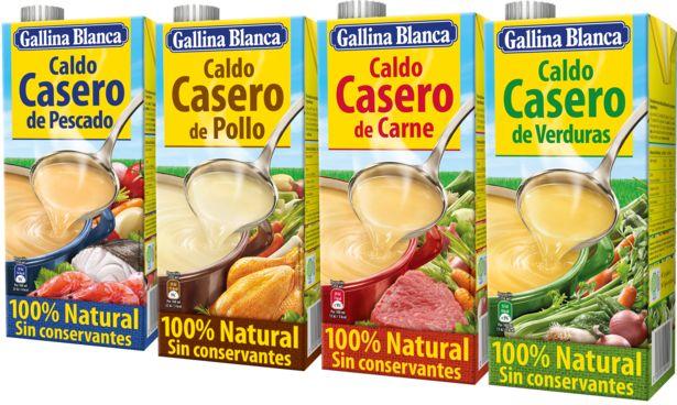 Oferta de Gallina Blanca - Caldo Cualquier Sabor. AHORRO:  por 0,2€