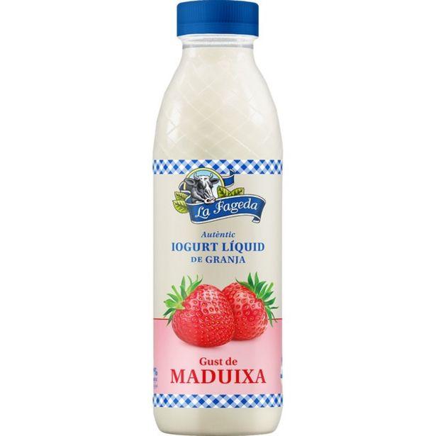 Oferta de La Fageda - Yogur líquido - Fresa. AHORRO:  por 1€