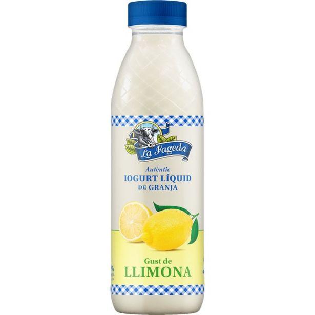 Oferta de La Fageda - Yogur líquido - Limón . AHORRO:  por 1€