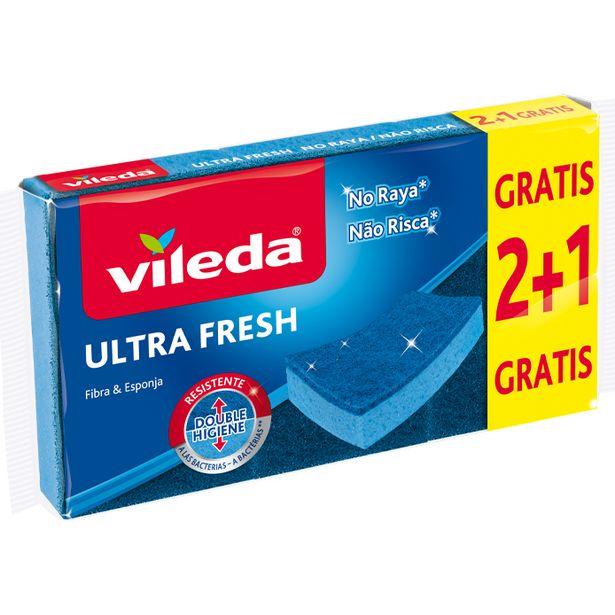 Oferta de Vileda - Estropajo ultra fresh no raya. AHORRO:  por 0,3€