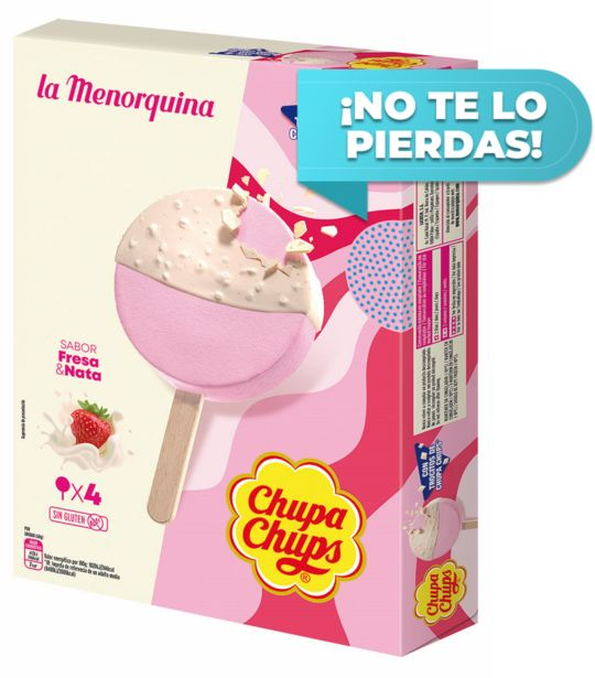 Oferta de La Menorquina - La Menorquina Chupa Chups. AHORRO:  por 0,75€