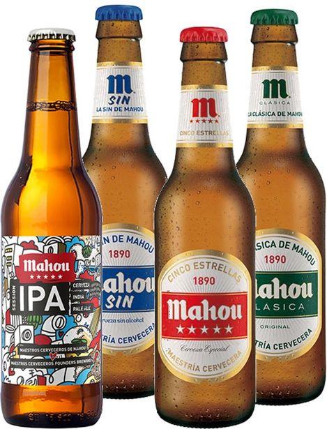 Oferta de Cerveza Mahou  - Cerveza Mahou. AHORRO:  por 0,3€