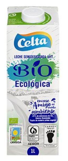 Oferta de Celta - Leche UHT Ecológica Semidesnatada. AHORRO:  por 0,25€