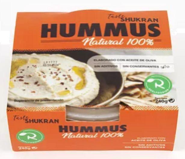 Oferta de Realfooding - Hummus Realfooding. AHORRO:  por 0,2€