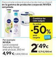 Oferta de Loción hidratante Nivea por 4,99€