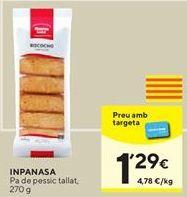 Oferta de Bizcocho Inpanasa por 1,29€