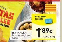 Oferta de Patatas fritas Espinaler por 1,89€