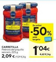 Oferta de Pimientos del piquillo Carretilla por 2,09€