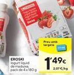 Oferta de Yogur líquido eroski por 1,49€