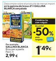 Oferta de Caldo casero Gallina Blanca por 2,99€