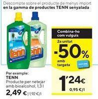 Oferta de Limpiadores Tenn por 2,49€