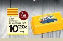 Oferta de Queso de barra Cadí por 10,2€