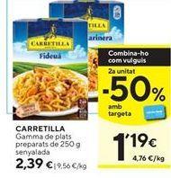 Oferta de Fideos Carretilla por 2,39€