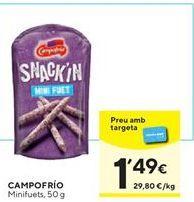 Oferta de Snacks Campofrío por 1,49€
