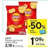 Oferta de Patatas fritas Lay's por 2,18€