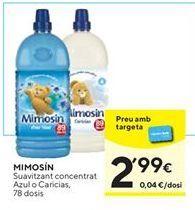 Oferta de Suavizante Mimosín por 2,99€