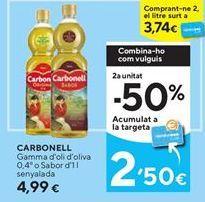 Oferta de Aceite de oliva Carbonell por 4,99€