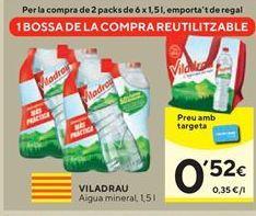 Oferta de Agua Viladrau por 0,52€