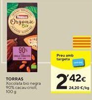 Oferta de Chocolate 90% cacao Torras por 2,42€