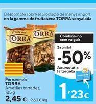 Oferta de Frutos secos Torra por 2,45€